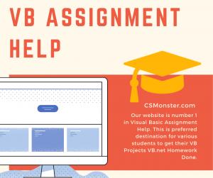 VB Assignment Help